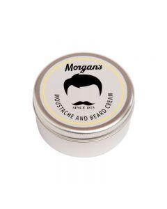 Morgans Moustache & Beard Cream 75ml Tin