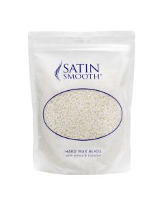 Satin Smooth Pure White Hard Wax With Arnica & Coconut 700g Pouch