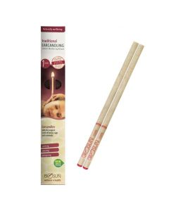 Biosun Ear Candles Traditional Honey + Sage x 1 Pair