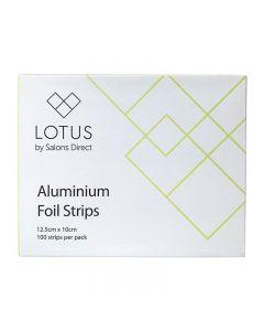 Lotus Aluminium Foil Strips x 100 (12.5cm x 10cm)