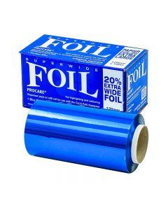 Procare Extra Wide Blue Foil 120mm x 100m
