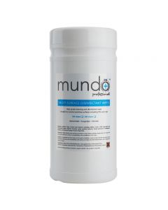 Mundo Surface Disinfectant Wipes Pack of 100
