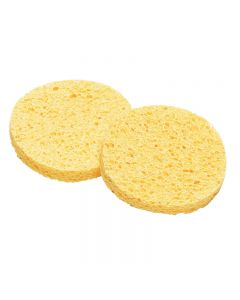 Lotus Yellow Cellulose Sponges Large x 2