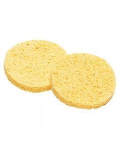 Lotus Yellow Cellulose Sponge Small x 2
