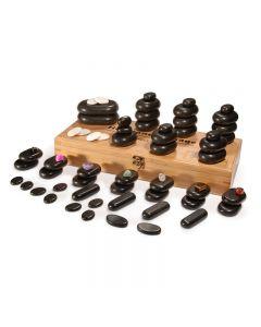 Deluxe Massage Stone Set 64 Pieces