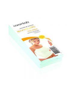 Caronlab Smooth & Remove Spun Lace 90 (Strips) 80x225mm 100pk