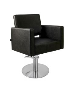 Lotus Phoenix Styling Chair Black with Round Base