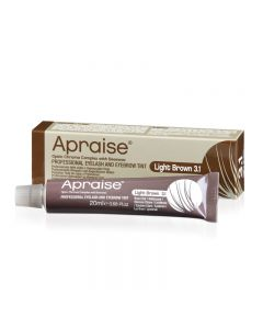 Apraise Eyelash + Eyebrow Tint 3.1 Light Brown 20ml