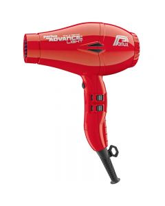 Parlux Advance Light Ionic + Ceramic Red Hairdryer (2200w)