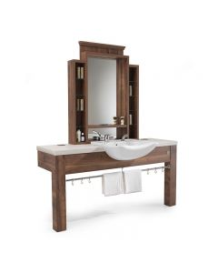 REM Montana Barber Unit with Basin
