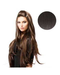 BiYa Seamless 3/4 Wig 2 Darkest Brown