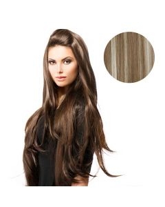 BiYa Seamless 3/4 Wig 18p613 Brown/Blonde