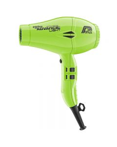 Parlux Advance Light Ionic + Ceramic Neon Green Hairdryer (2200w)
