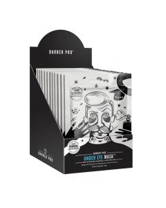 BARBER PRO Under Eye Mask Retail Display Case Box of 12