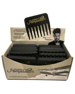Jack Dean Pompadour Comb Box of 24 Black