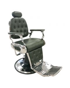 Lotus Regency Barber Chair Green