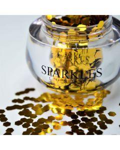 Sparkles London Beyonce Big & Chunky Gold Face Glitter