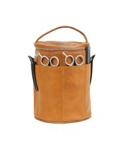 Muud Saturn Handcrafted Leather Scissor and Tool Bag Whisky