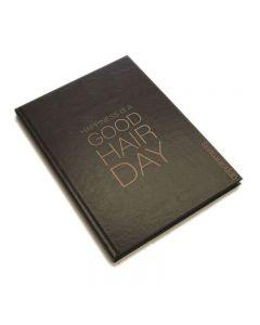 Agenda Appointment Book 6 Column Black + Rose Gold