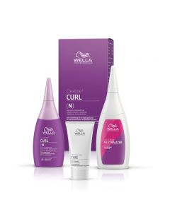 Wella Professionals CREATINE+ CURL Normal to Resistant Hair Kit