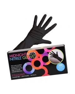 Framar Midnight Mitts Gloves Nitrile Gloves Large 50 Pairs