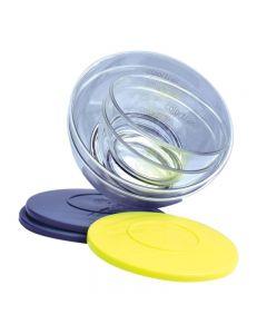 Colortrak Ambassador Collection Bowls 4pk Clear