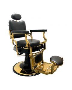 Lotus Byron Black Barber Chair