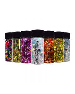 World Of Glitter Nail Shapes 3g