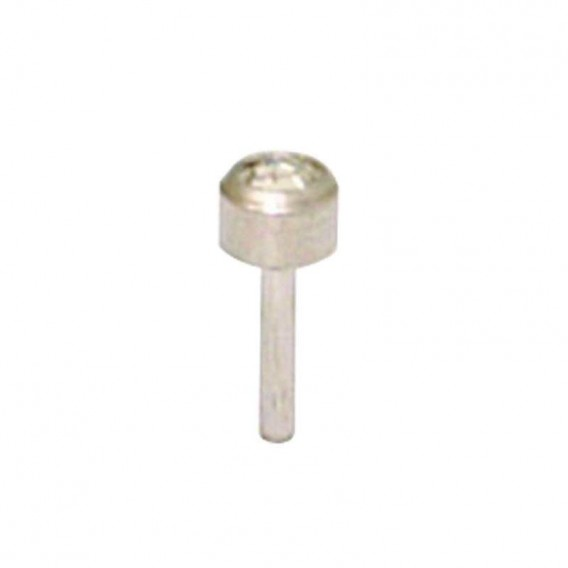 Caflon White Stainless Steel Studs x 12 Crystal