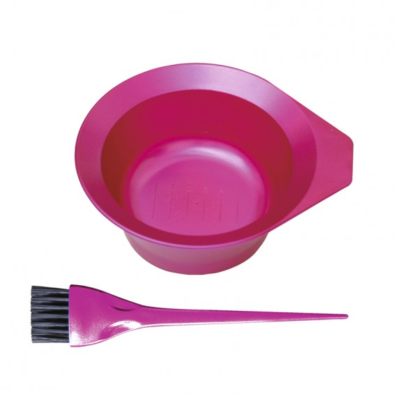 Metallix Tint Bowl + Brush