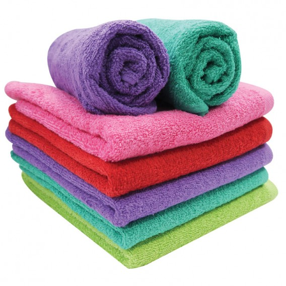 Pop Shots Hair Towels x12