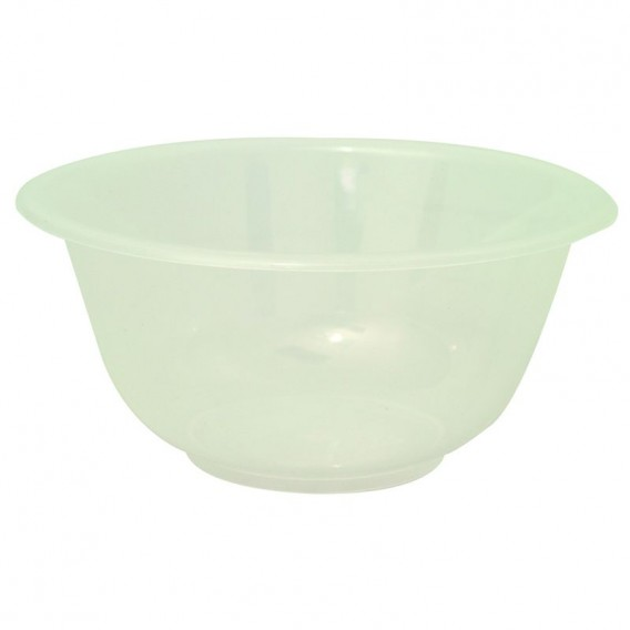 Clear Plastic Solution Bowl 6in