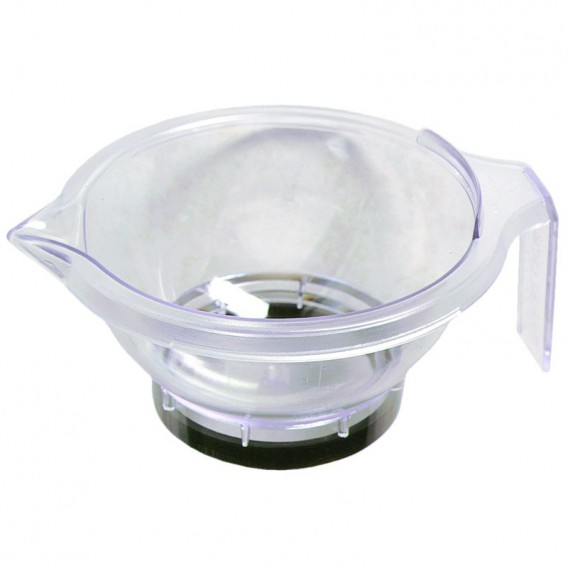 Hair Tools Acrylic Tint Bowl Clear x 1