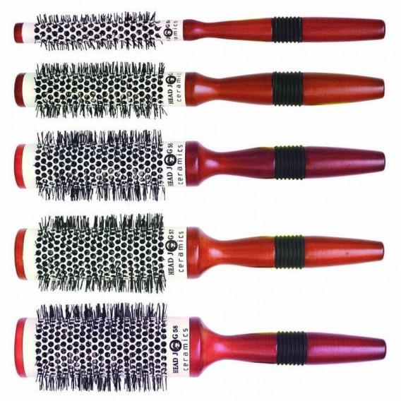 Head Jog Ceramic Radial Brush Set X 5 Salons Direct