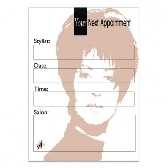 Agenda Appointment Cards (x 100)