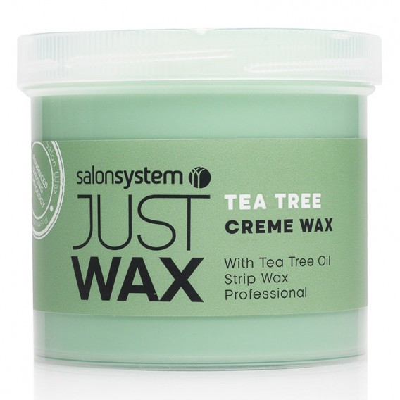 Just Wax Tea Tree Creme Wax 450g