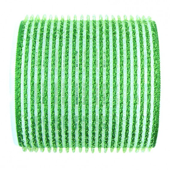 Sibel Jumbo Velcro Rollers Green 61mm x 6