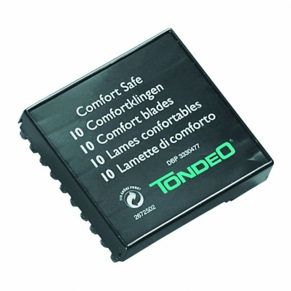 Tondeo Comfort Safe Blades x 10
