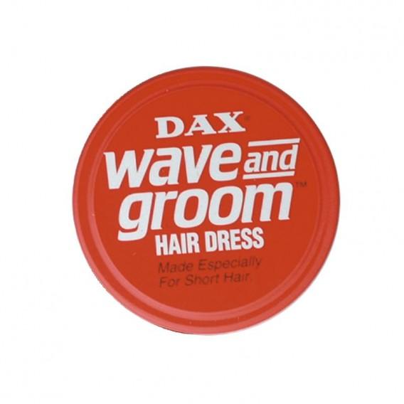 Dax Wax Red Wave + Groom 99g Tin