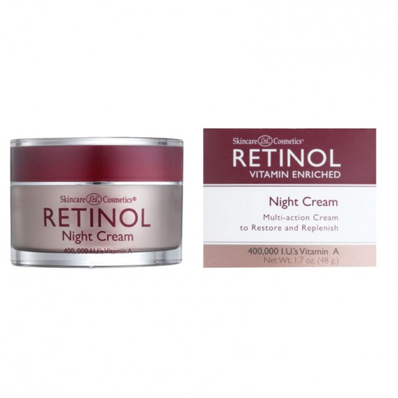 retinol vitamin a night cream white top 50g salons direct. Black Bedroom Furniture Sets. Home Design Ideas