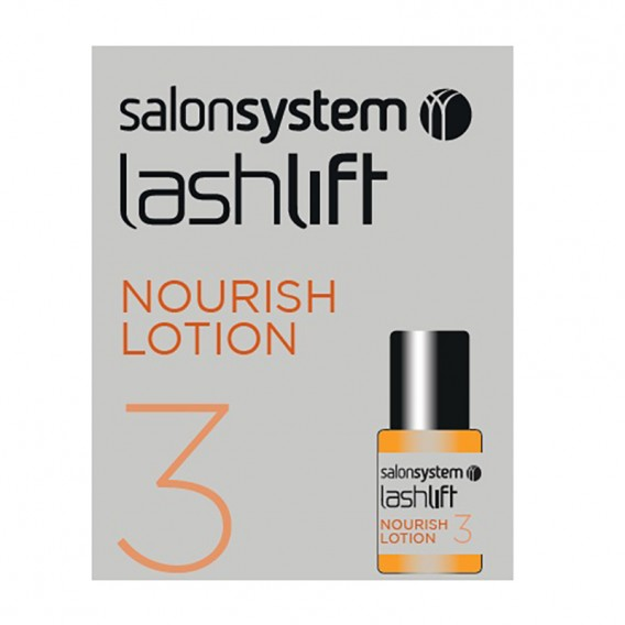 Salon System Lashperm Nourishing Lotion (Yellow) 4ml