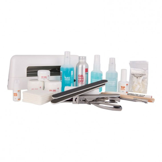 The Edge UV Gel Nail Kit with Lamp