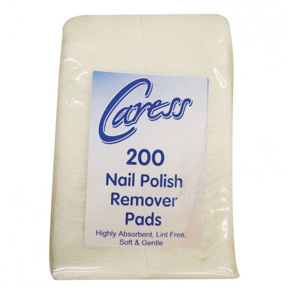 Caress Professional Nail Polish Remover Pads x 200