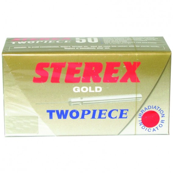 Sterex Gold Two Piece Needles F3G