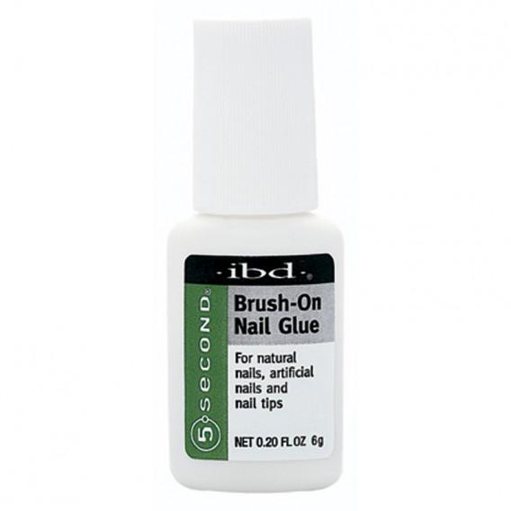 IBD 5 Second Brush-On Nail Glue 6g