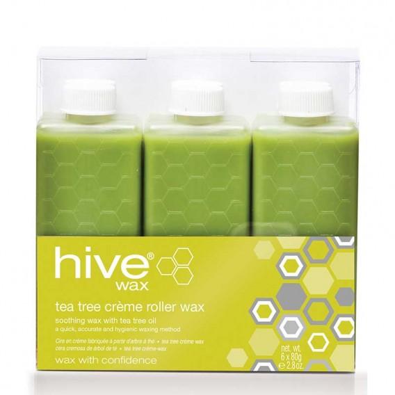 Hive Roller Depilatory Refills Tea Tree Wax 80g x 36