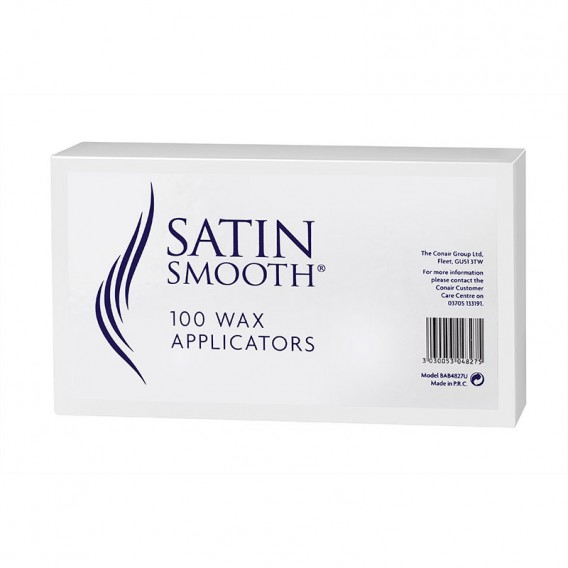 Satin Smooth Wax Applicators (100 per pack) by BaByliss Pro