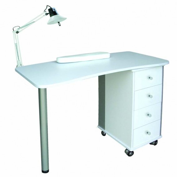 Lotus Rio Single Manicure Station White