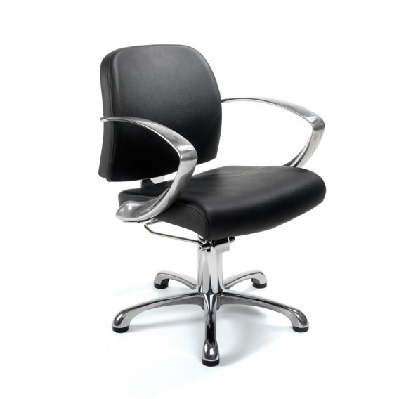 hydraulic styling chair. REM Evolution Hydraulic Styling Chair Black