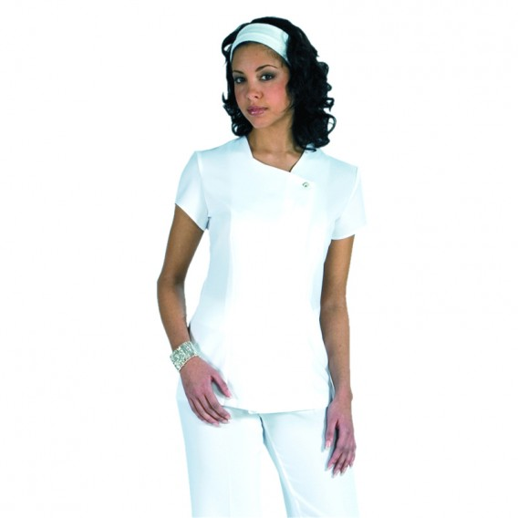 Como Tunic White by Florence Roby
